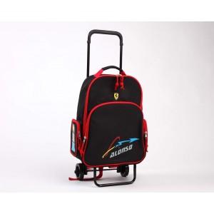 Mochila con carro Ferrari Alonso
