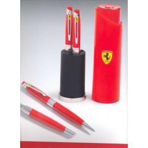Juego de Bolígrafo + Roller Ferrari Tailight