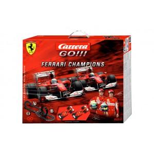 Go!!! Set Ferrari Champions