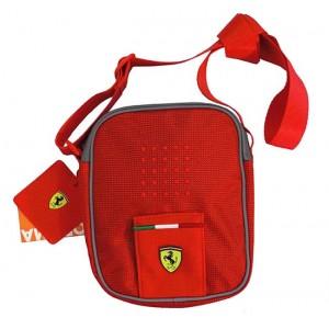 el más nuevo dde97 5cda3 Bandolera Ferrari - Mito Rojo