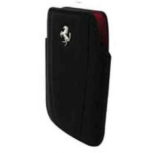 Funda Ferrari iPhone vertical piel