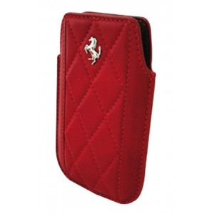 Funda Ferrari iPhone Maranello vertical piel