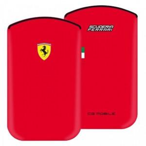 Funda Ferrari V1 nabuk iPhone 3G/4 Scuderia F1