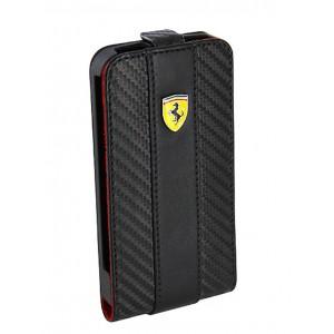 Funda Ferrari challenge iPhone4 solapa vertical