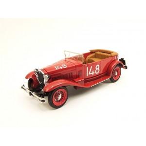 Alfa Romeo 1750 Torpedo  -  Mille Miglia 1931 nº148