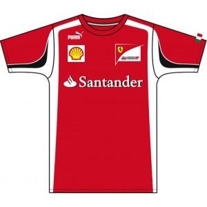 Camiseta  Equipo  Ferrari  2011
